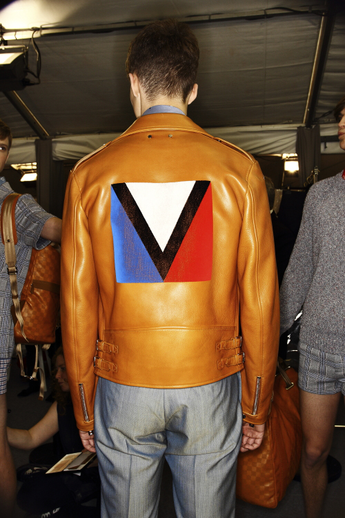 Louis Vuitton SS14 Men Fashion Show Paris Backstage