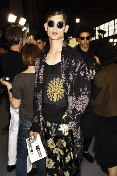 Dries Van Noten SS14 Men Fashion Show Paris Backstage