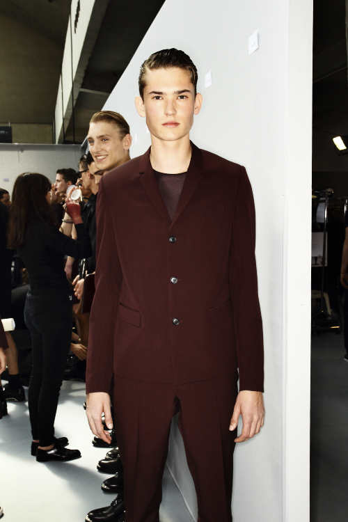 DIOR SS14 Men Fashion Show Paris Backstage