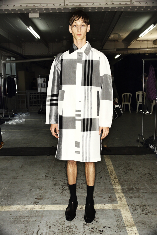 Damir Doma SS14 Men Fashion Show Paris Backstage