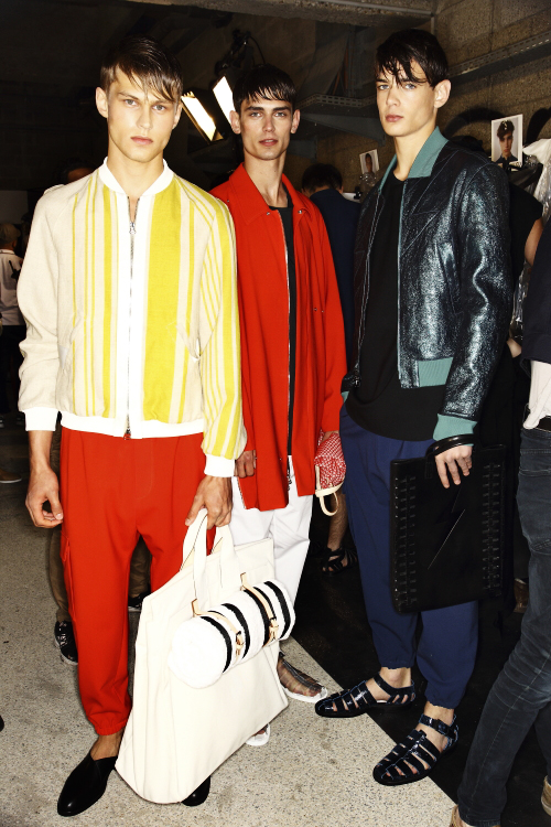3.1 Phillip Lim SS14 Men Fashion Show Paris Backstage
