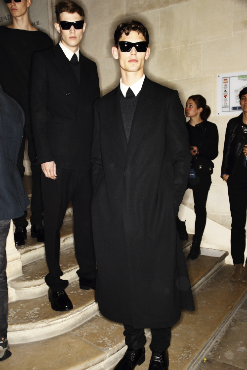 Cerruti SS14 Men Fashion Show Paris Backstage