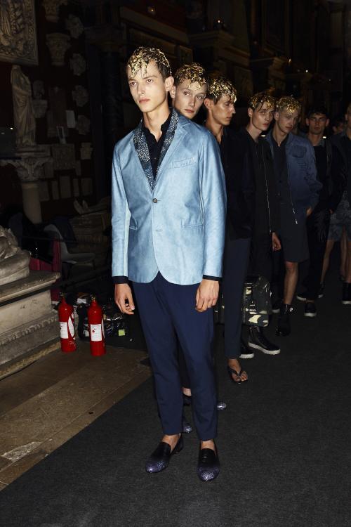 Mihara Yasuhiro SS14 Men Fashion Show Paris Backstage