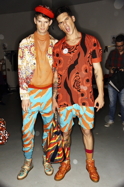 Vivienne Westwood SS14 Men Fashion Show Milan Backstage