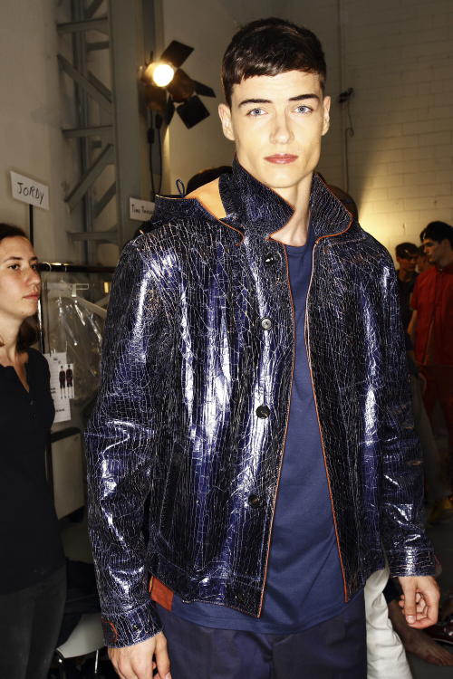Fendi SS14 Men Fashion Show Milan Backstage