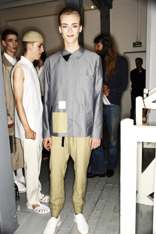 22/4 Hommes_Femmes SS14 Men Fashion Show Paris Backstage
