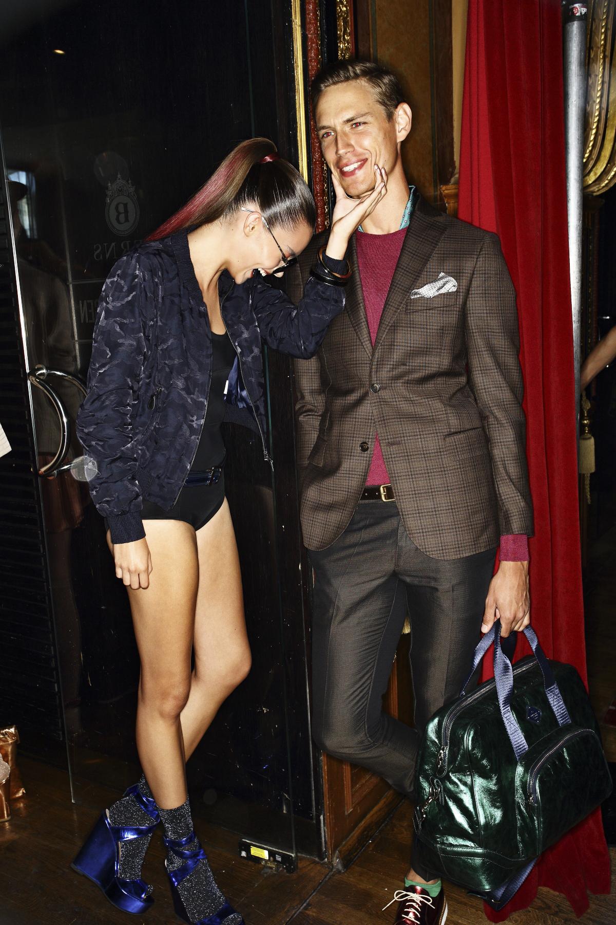 J.Lindeberg SS14 Fashion Show Backstage @ Berns Hotel Stockholm