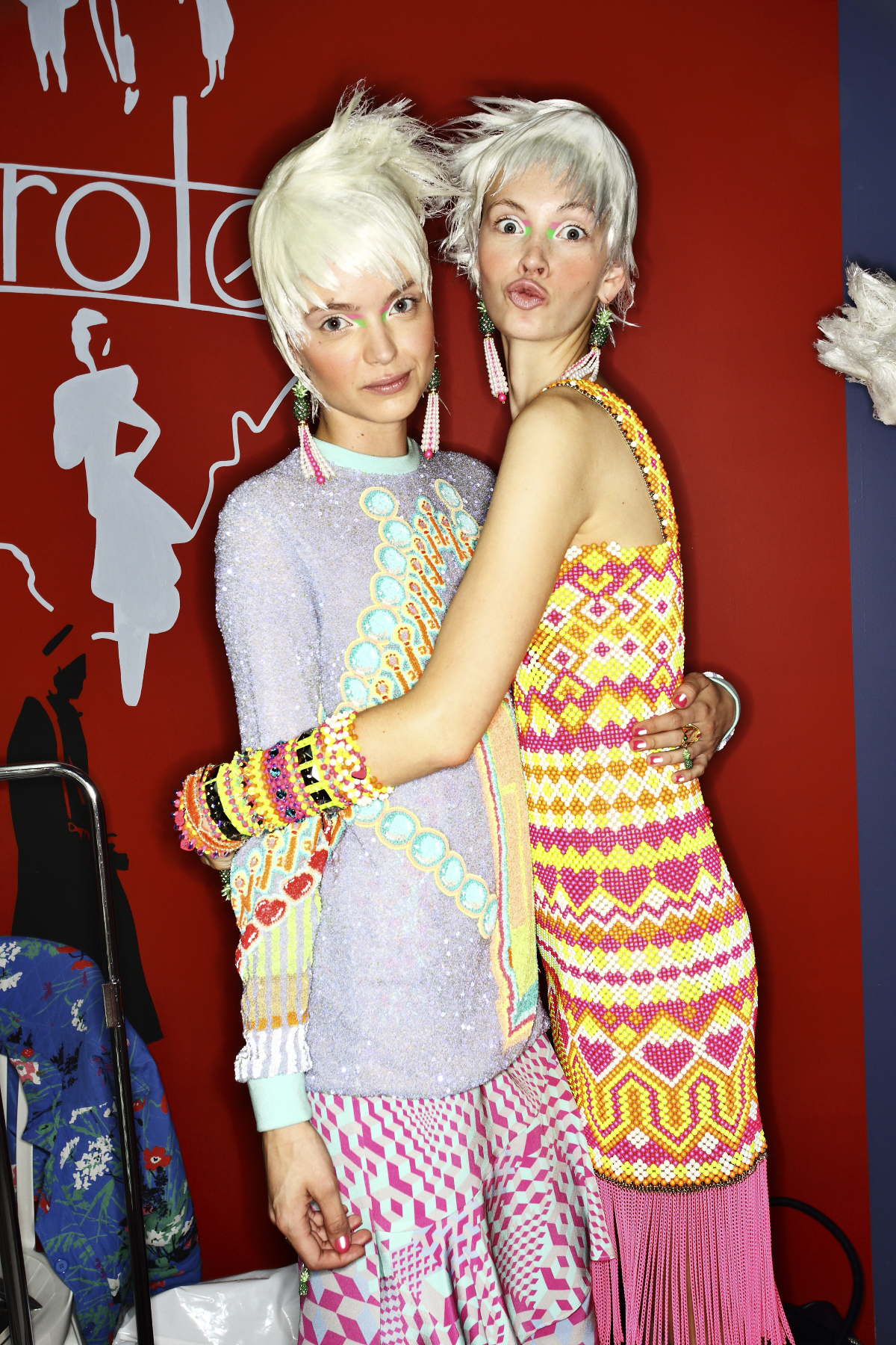 Manish Arora SS14 Fashion Show Backstage Paris