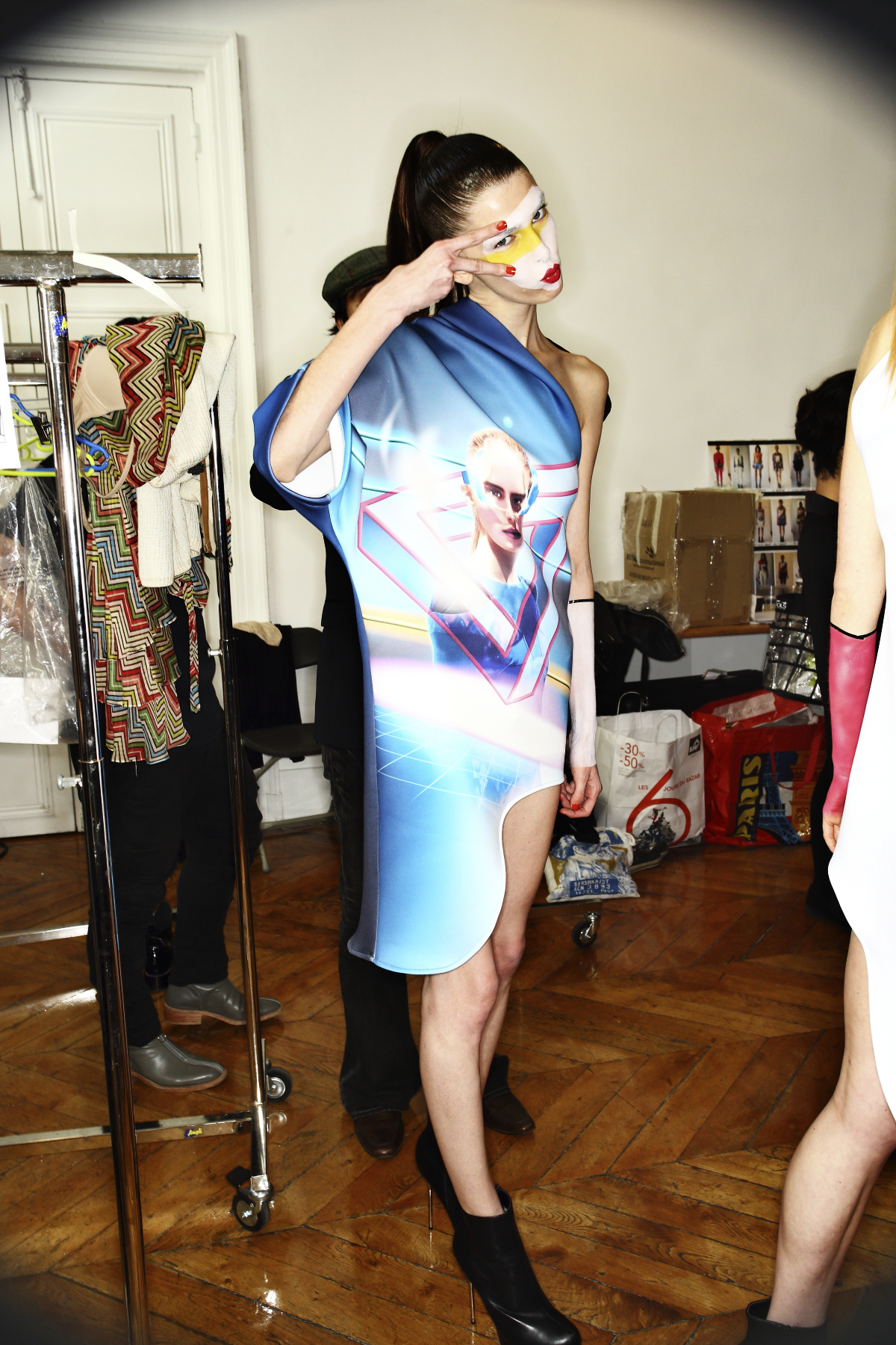 Ground Zero SS14 Fashion Show Paris Backstage