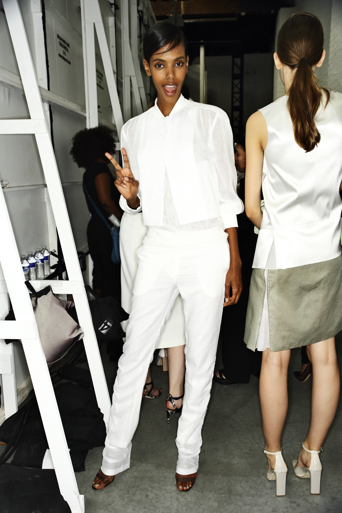 Reed Krakoff SS14 Fashion Show New York Backstage