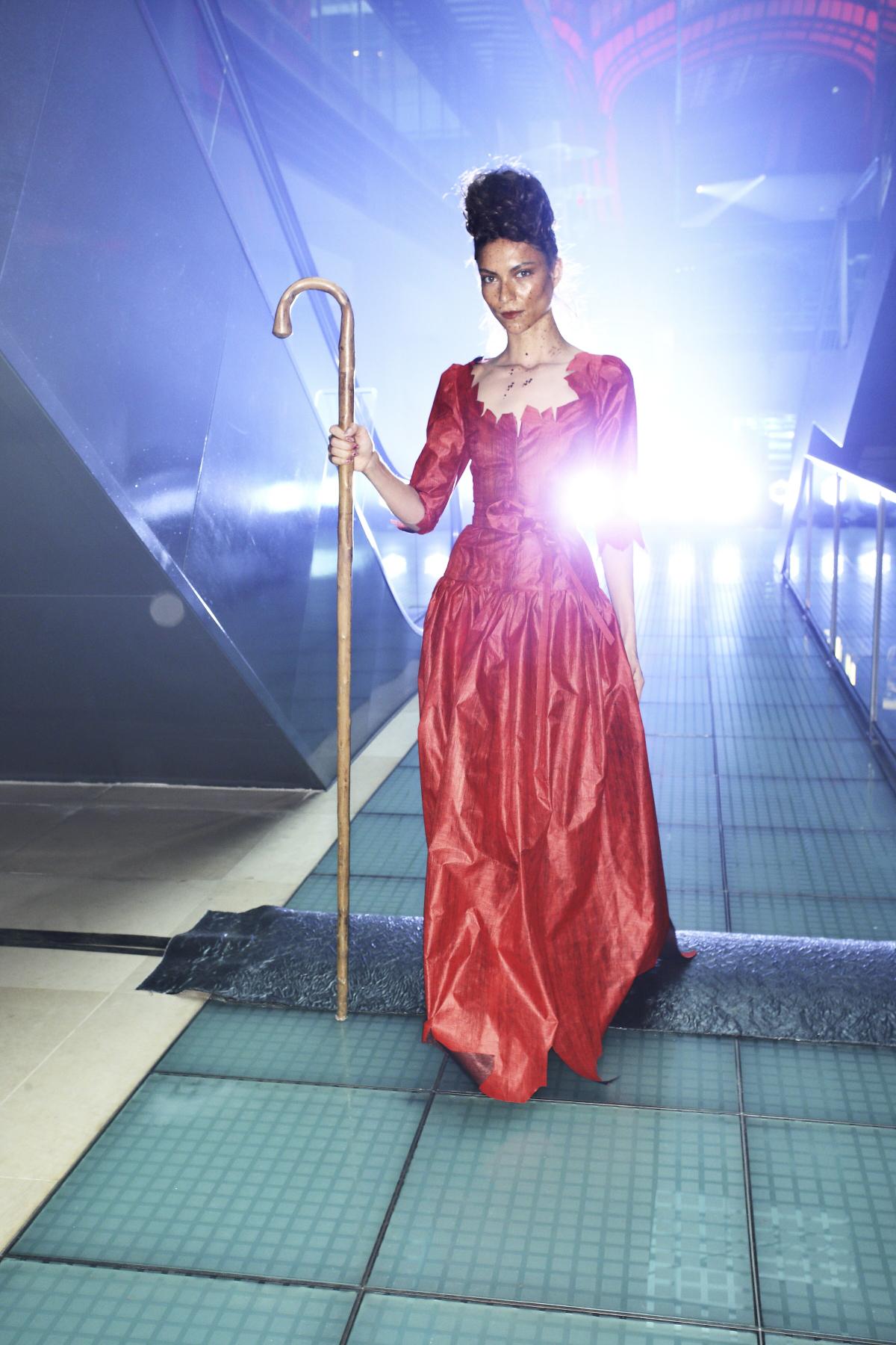 Vivienne Westwood SS14 Fashion Show Paris Backstage