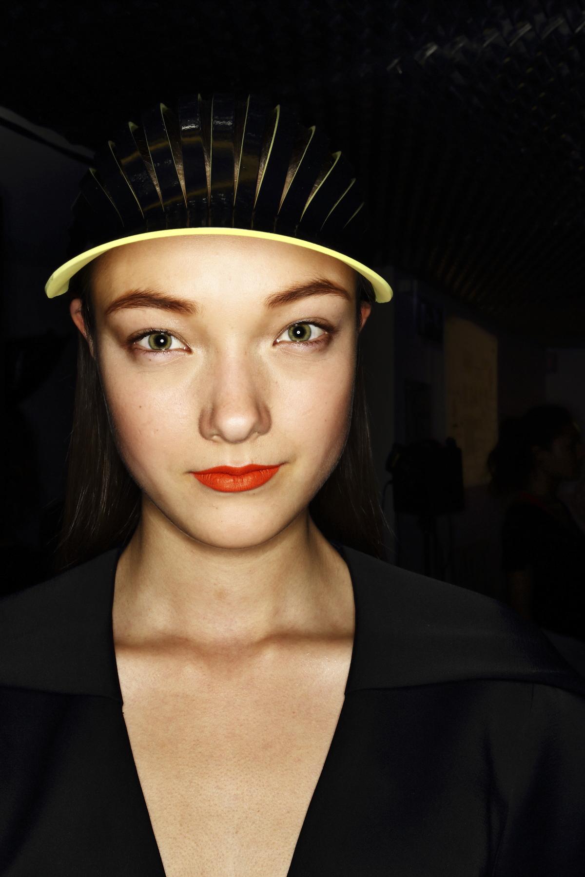 Galliano SS14 Fashion Show Paris Backstage