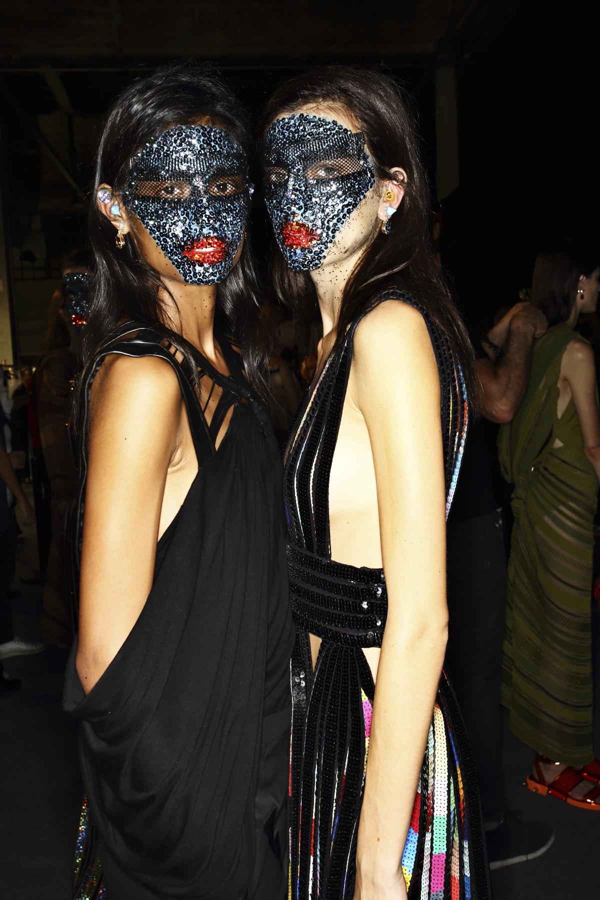 Givenchy SS14 Fashion Show Paris Backstage