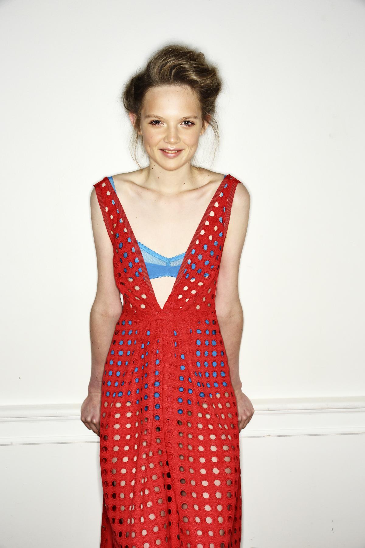 Collette Dinnigan SS14 Fashion Show Paris Backstage