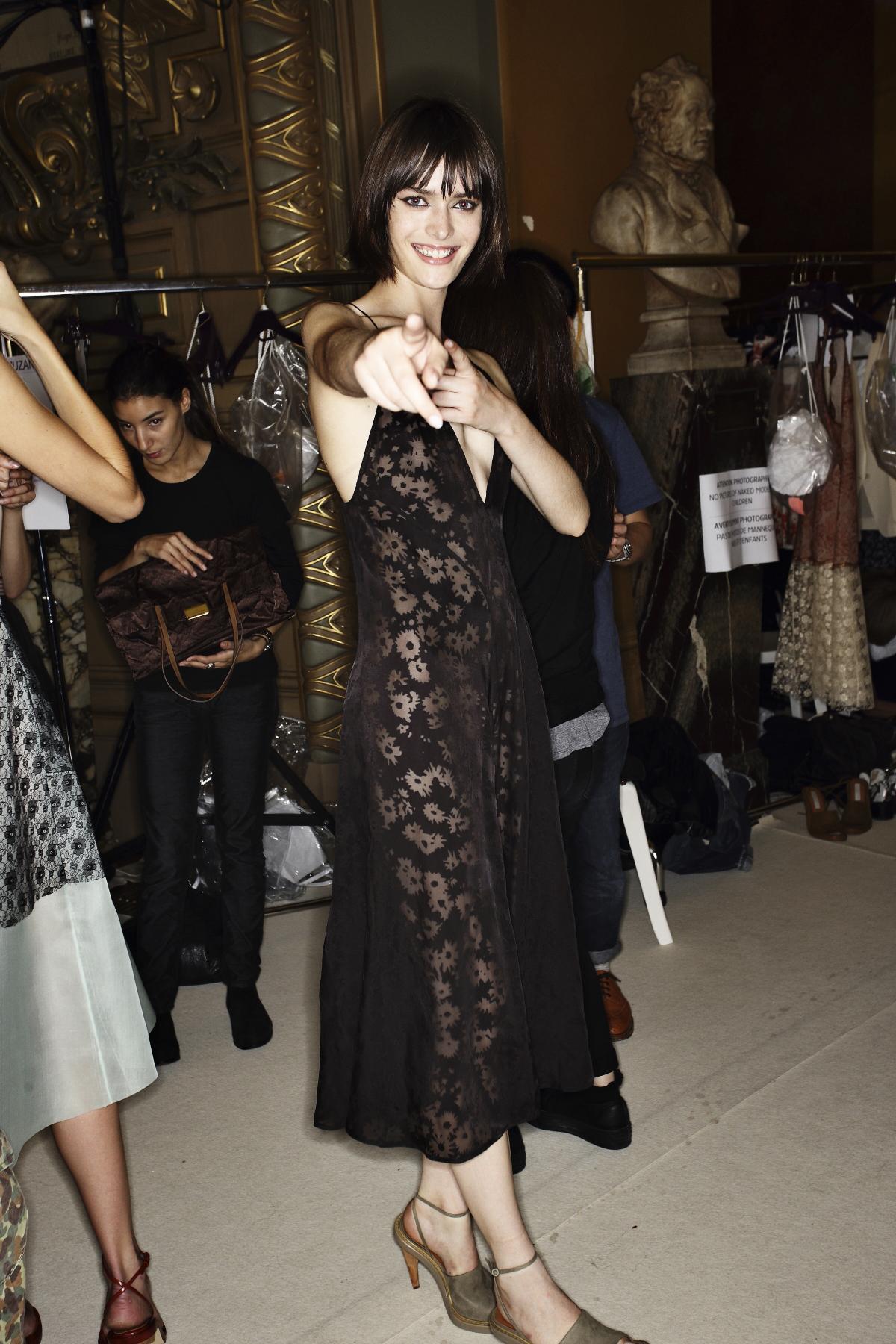 Stella Mc Cartney SS14 Fashion Show Paris Backstage