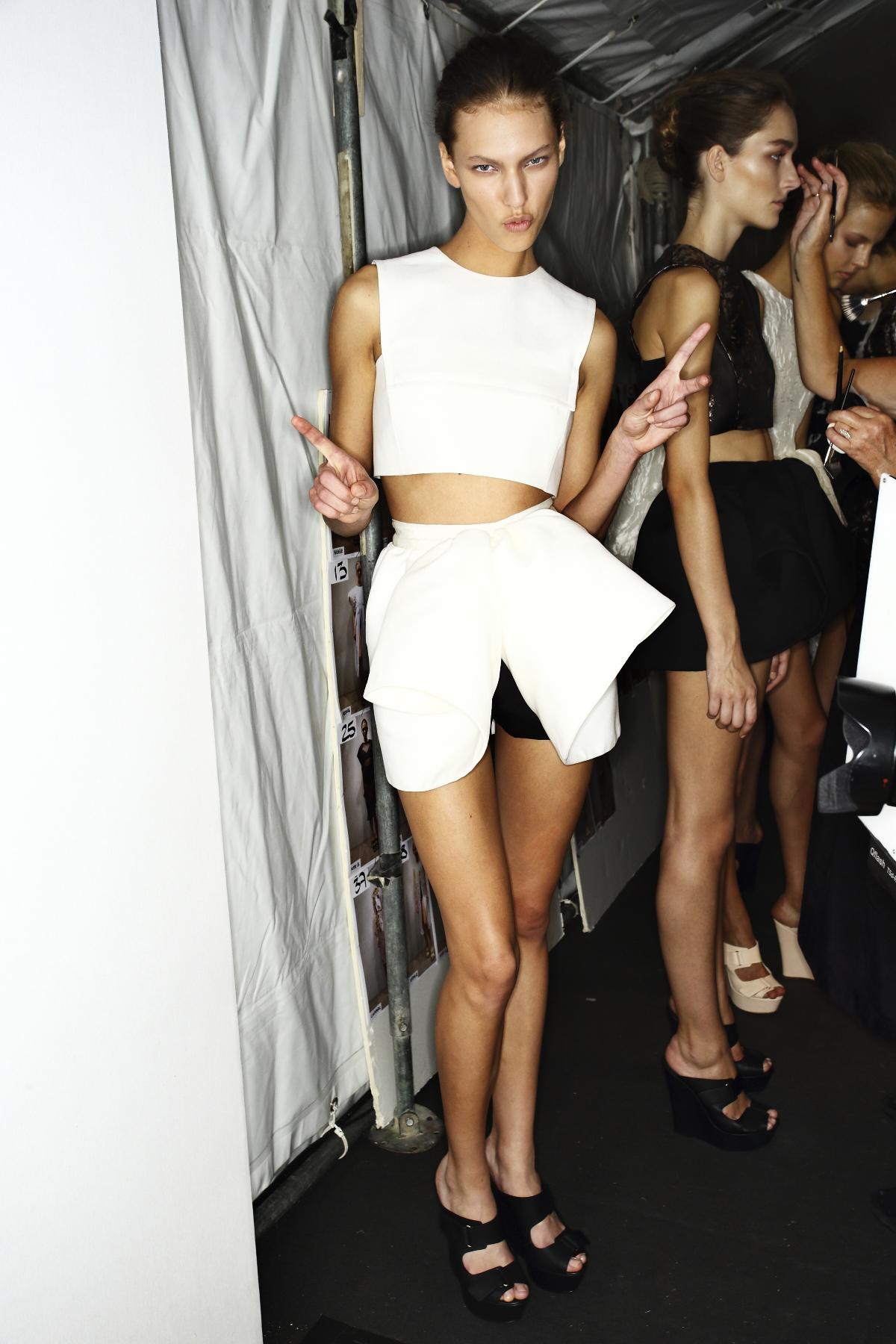 Giambattista Valli SS14 Fashion Show Paris Backstage