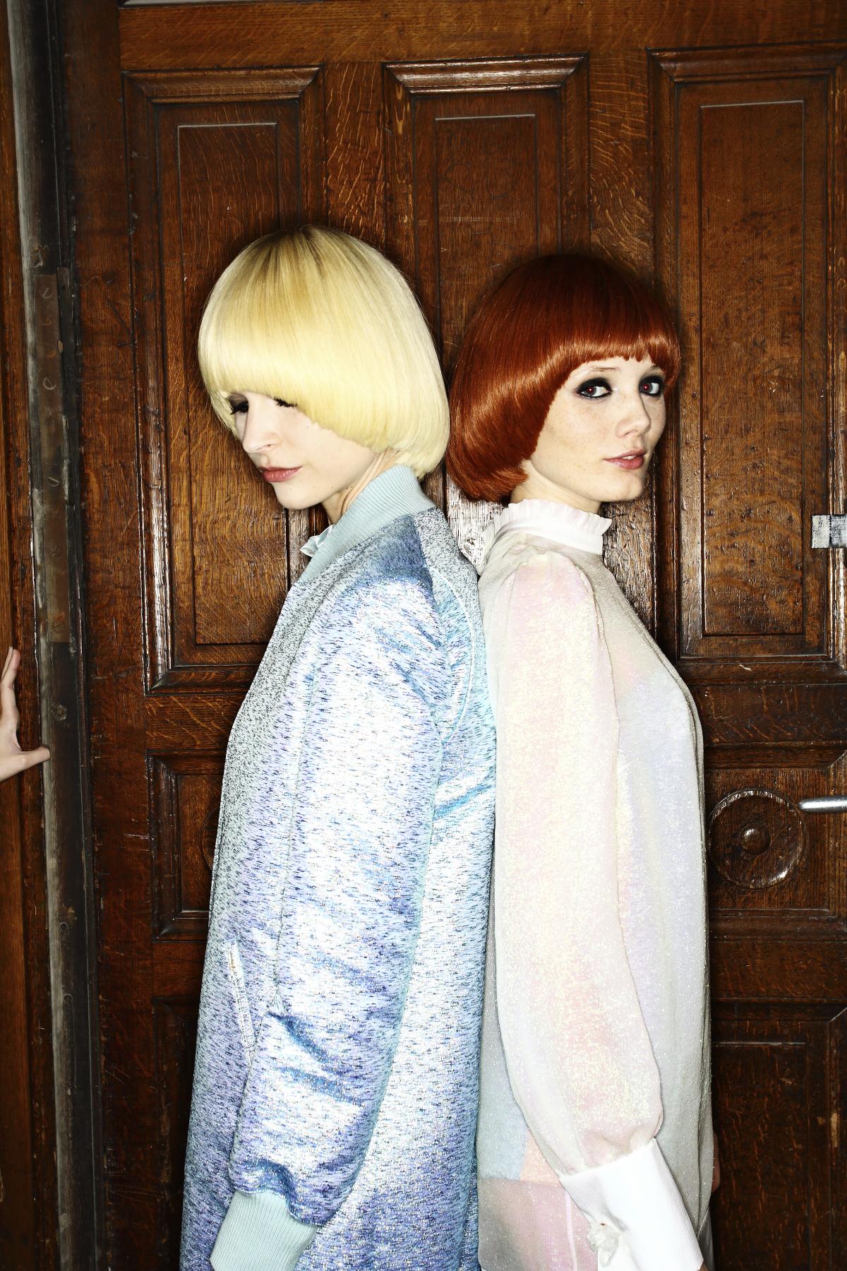 Veronique Branquinho SS14 Fashion Show Paris Backstage