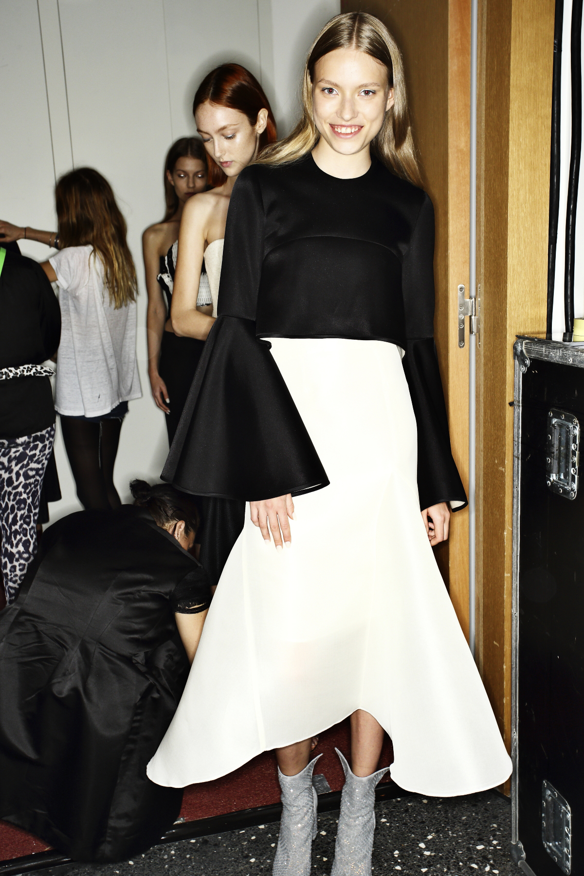 Ellery SS14 First Ever Fashion Show In Paris Backstage