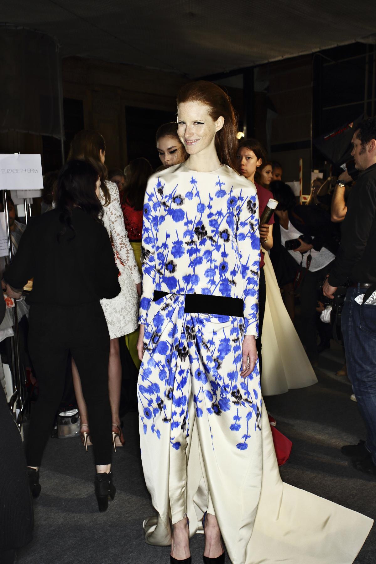 Giambattista Valli Haute Couture Show Paris Backstage