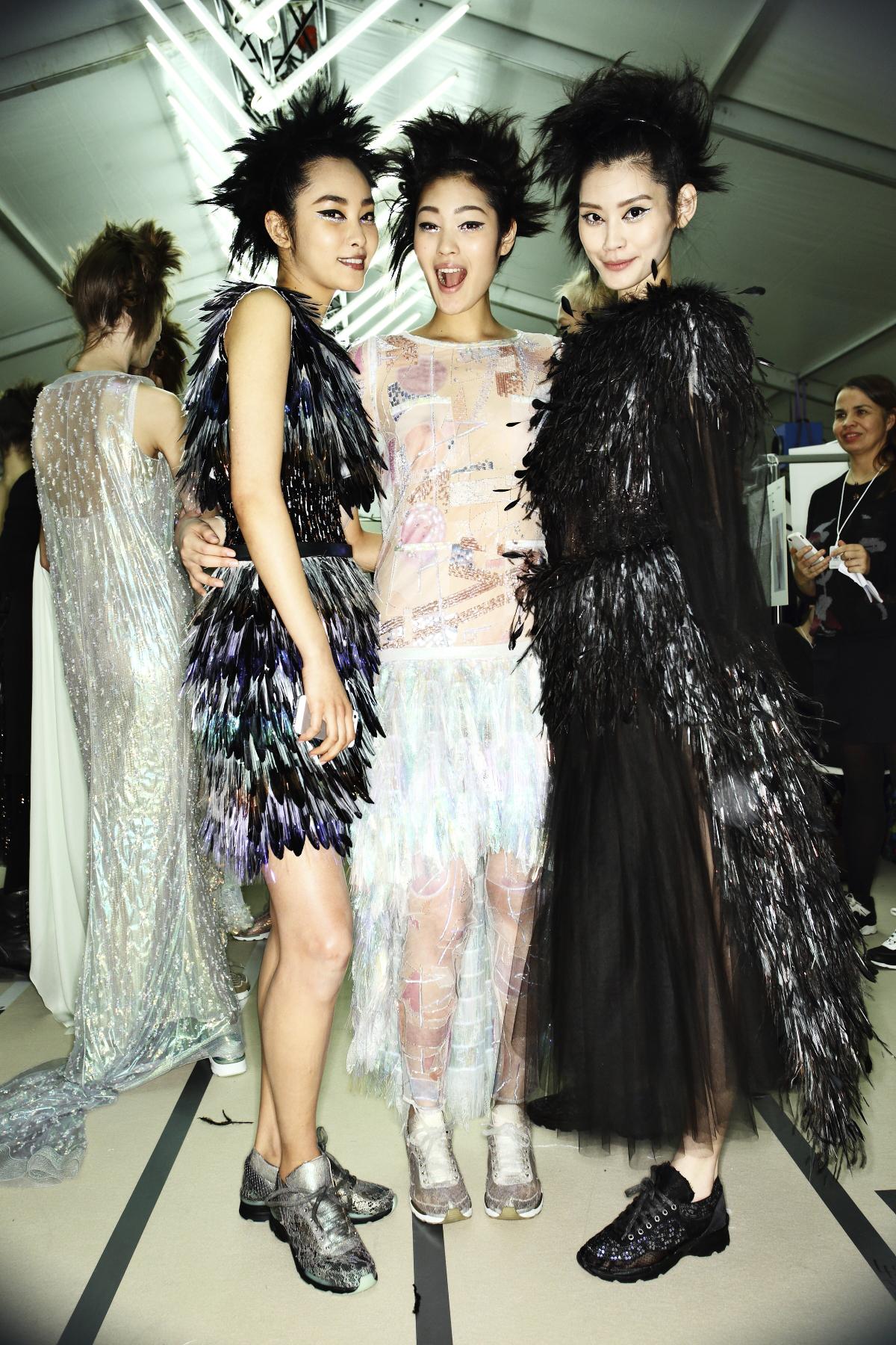 Chanel Haute Couture Show Paris Backstage