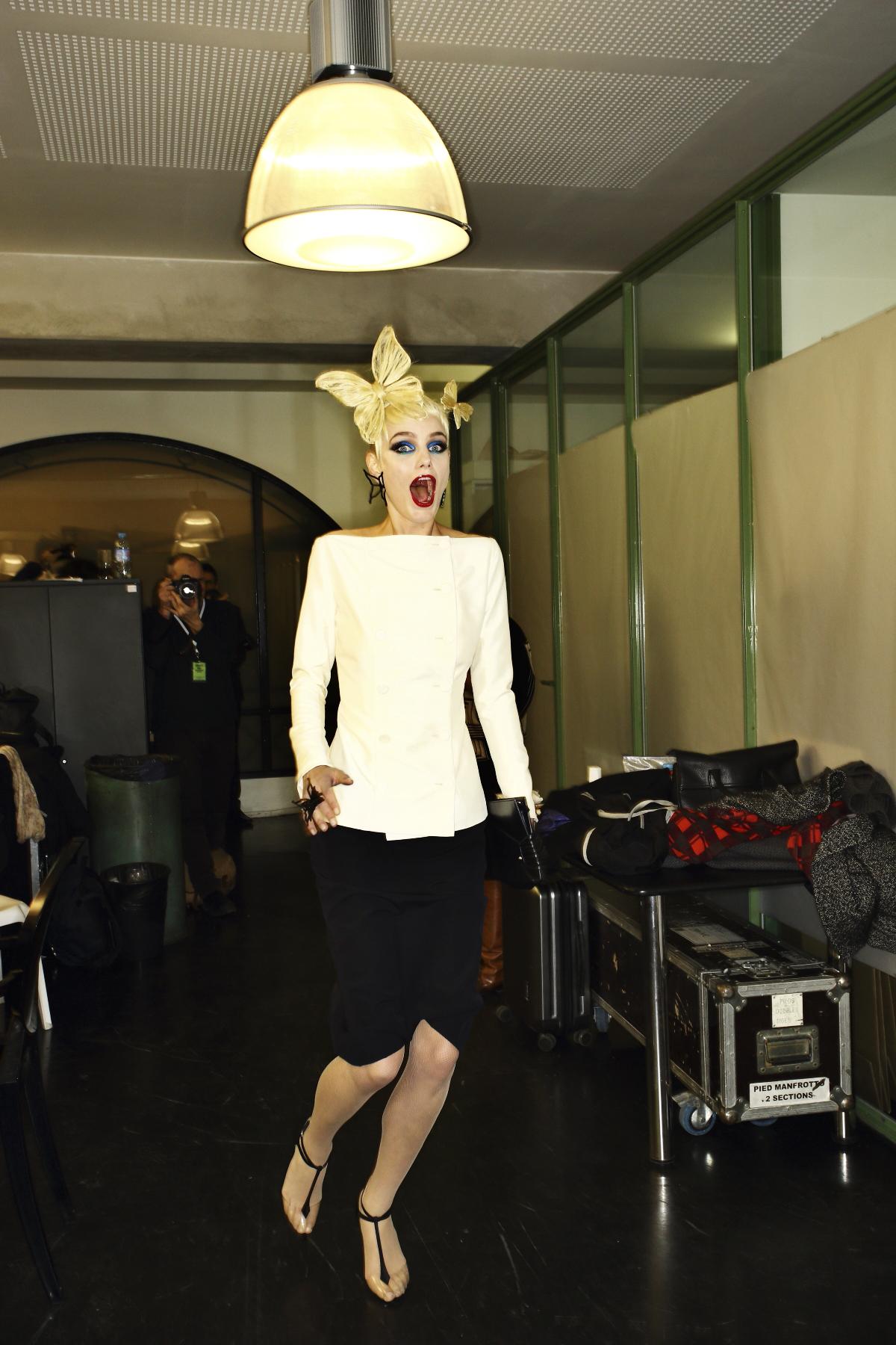 Jean Paul Gaultier Haute Couture Fashion Show Paris Backstage