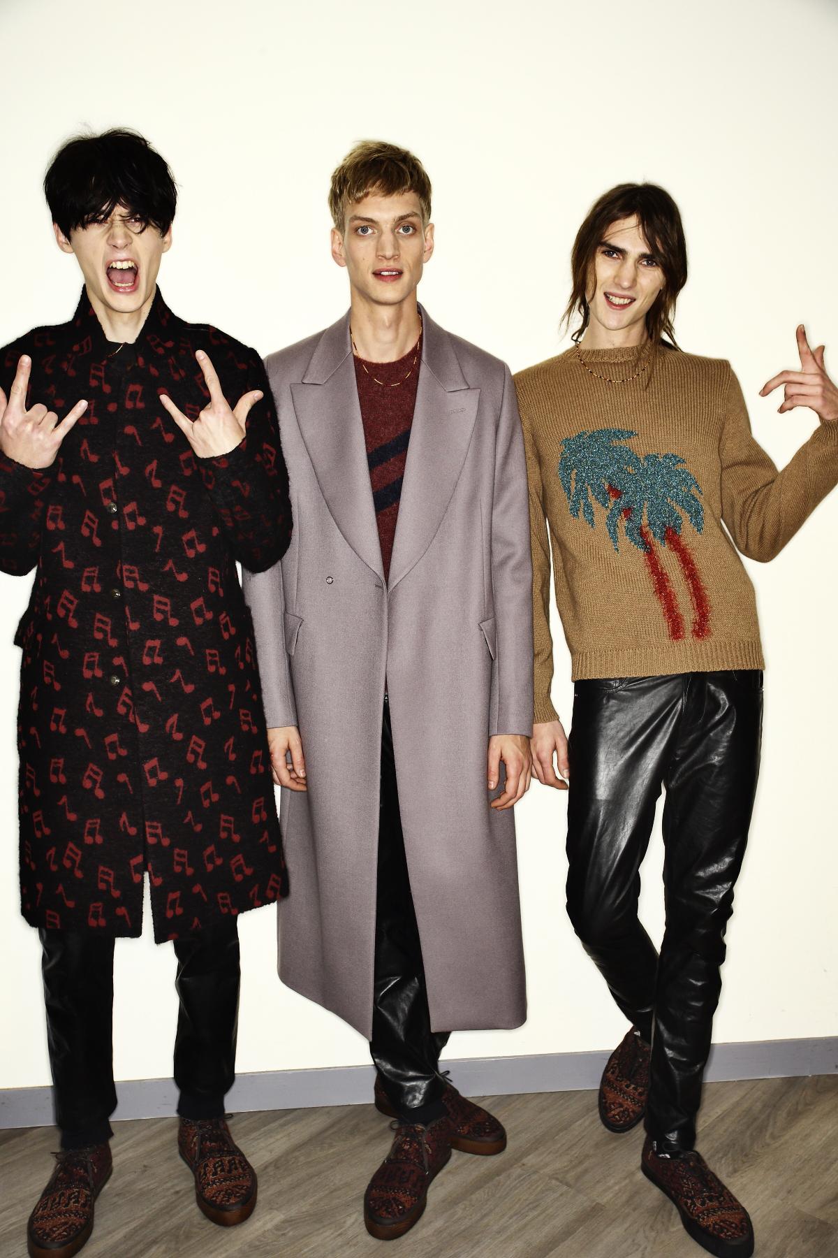 Paul Smith AW14-15 MEn Fashion Show Paris Backstage