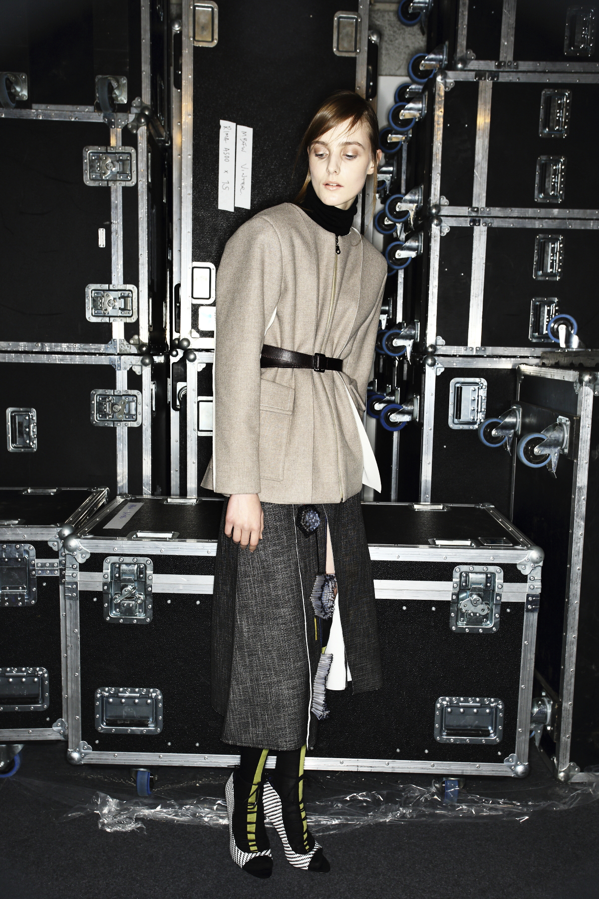 Altewai Saome AW14-15 Fashion Show Stockholm Backstage