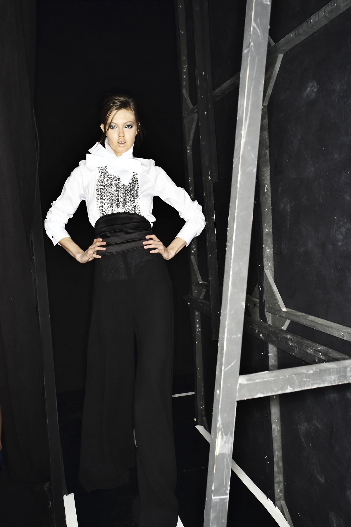 Ermanno Scervino AW14-15 Fashion Show Milan Backstage