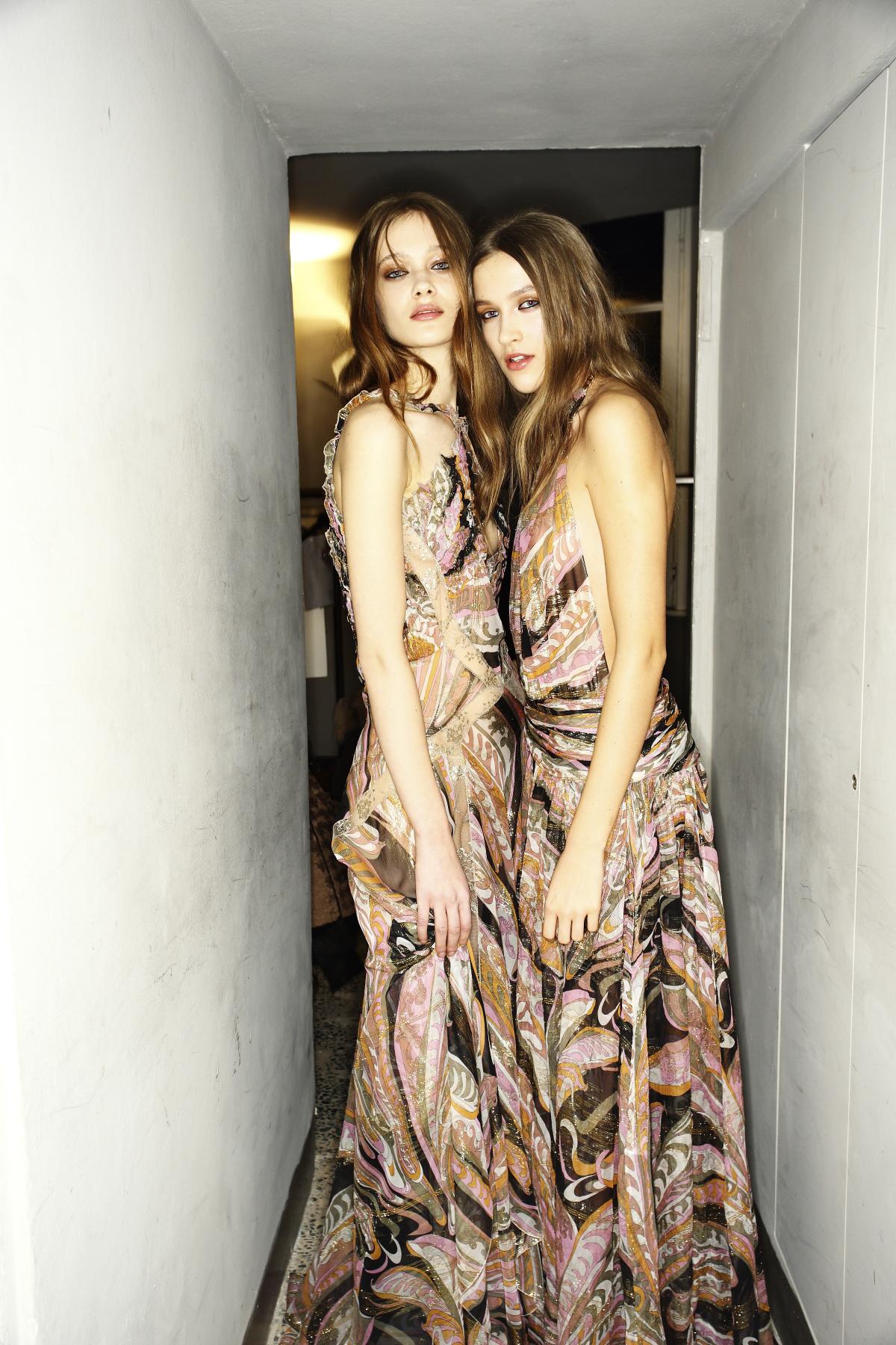 Emilio Pucci AW14-15 Fashion Show Milan Backstage