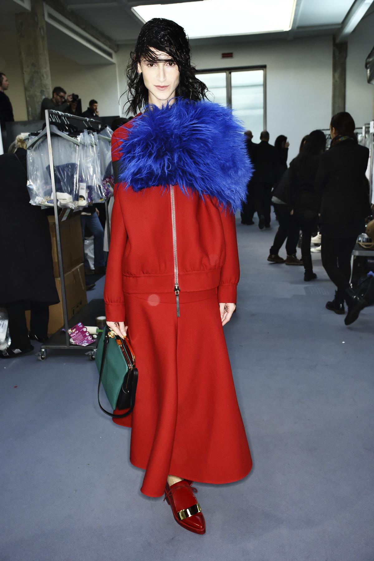 Marni AW14-15 Fashion Show Milan Backstage