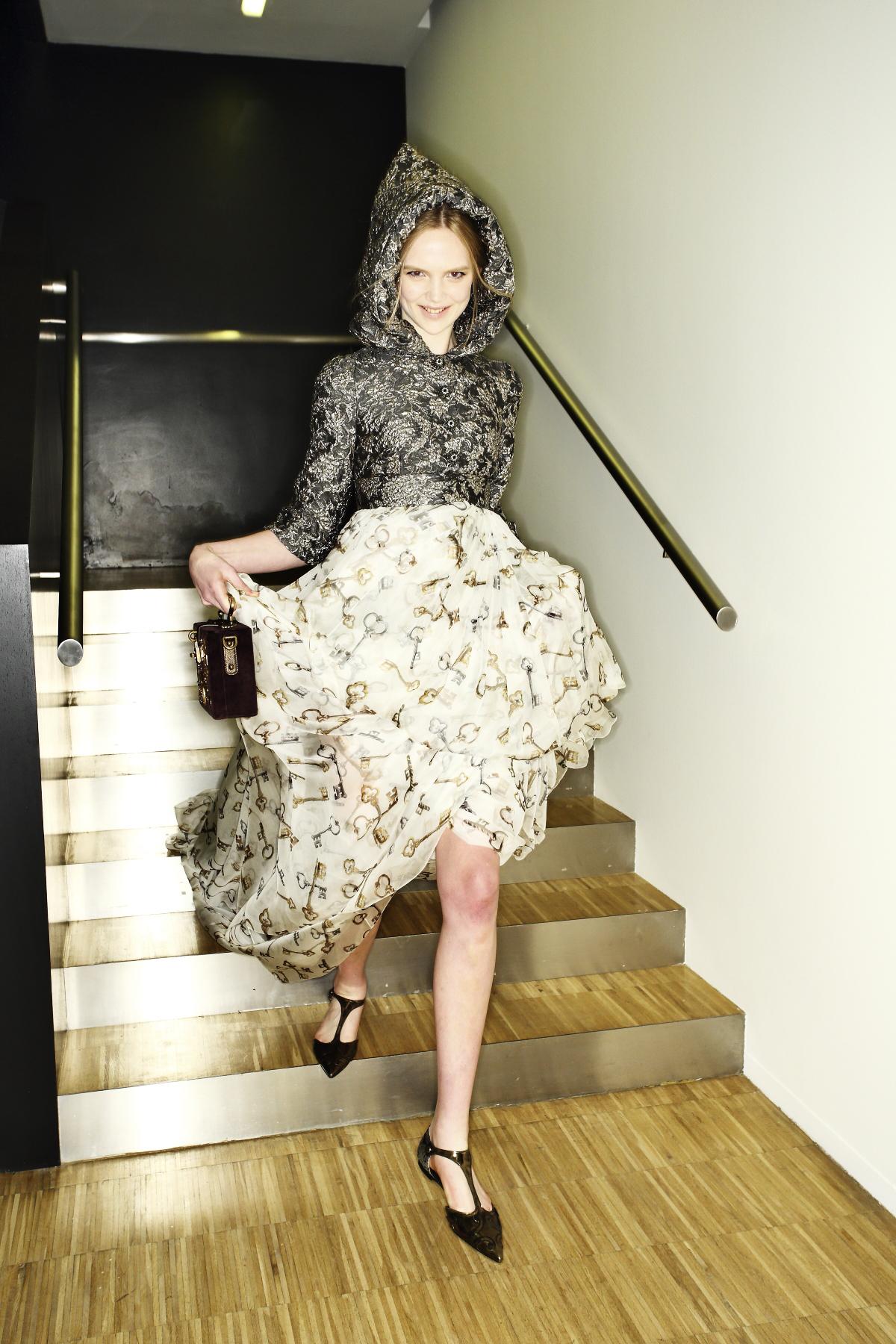 Dolce & Gabbana AW14-15 Fashion Show Milan Backstage