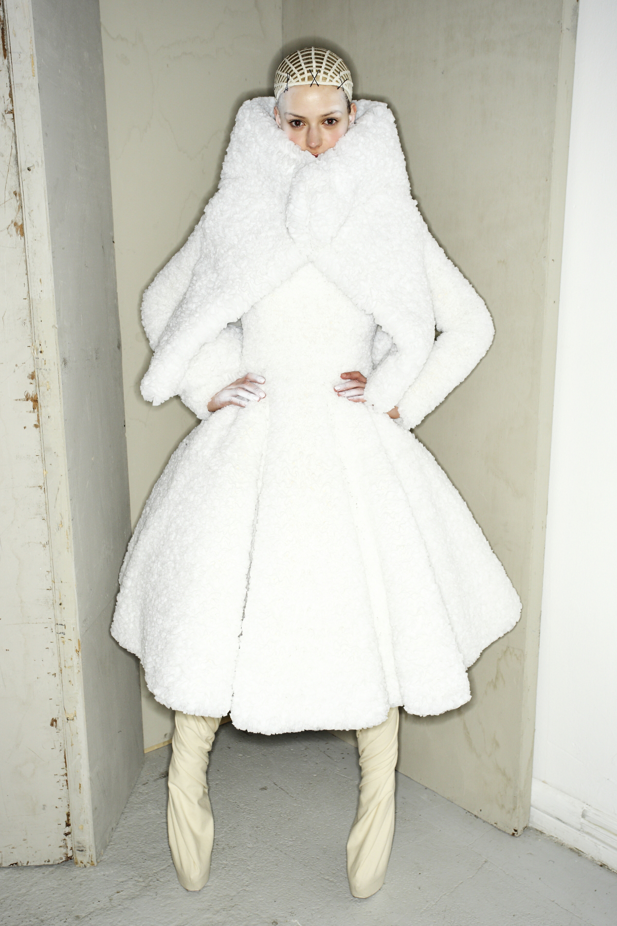 Gareth Pugh AW14-15 Fashion Show Paris Backstage