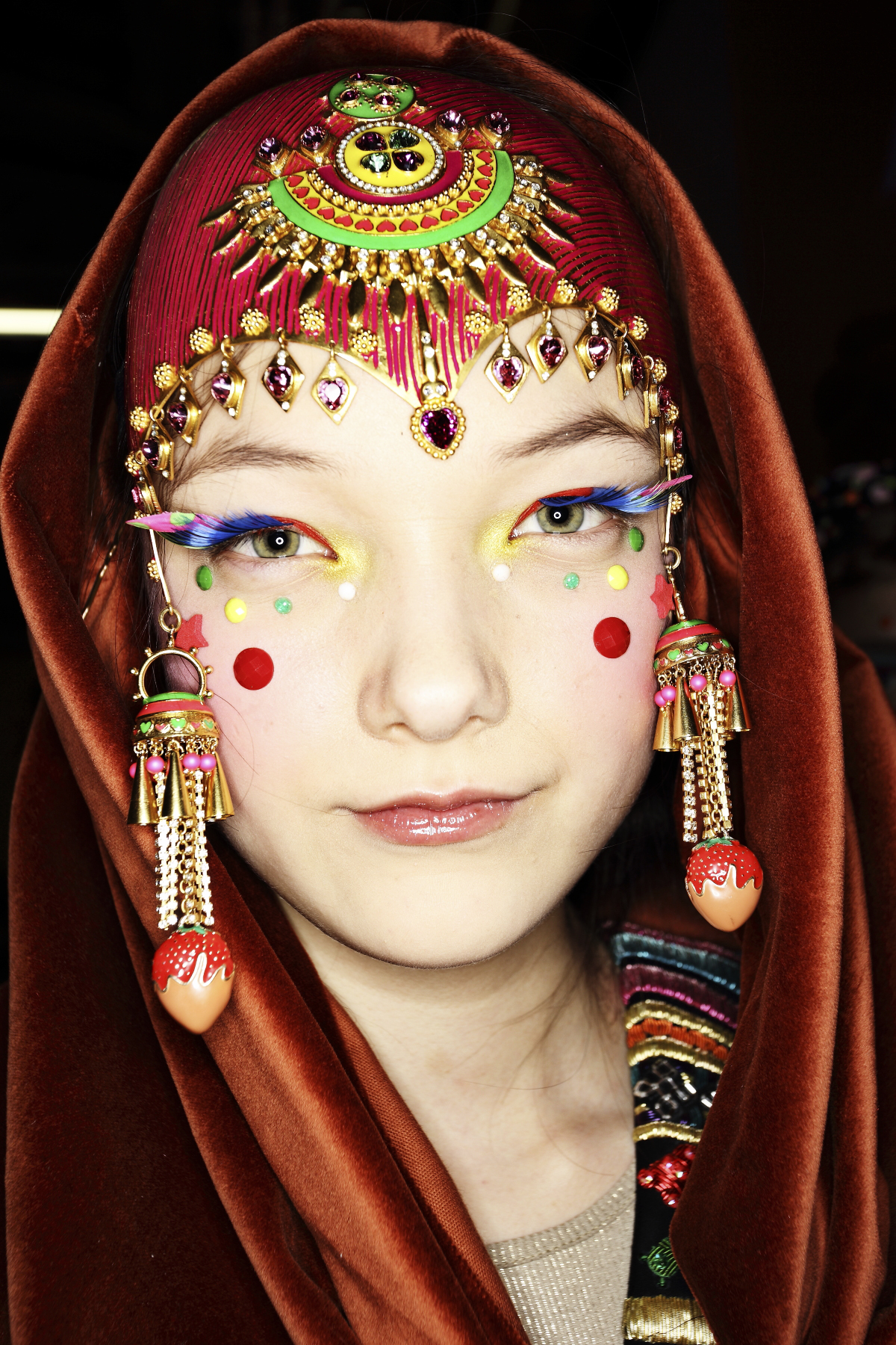 Manish Arora AW14-15 Fashion Show Paris Backstage