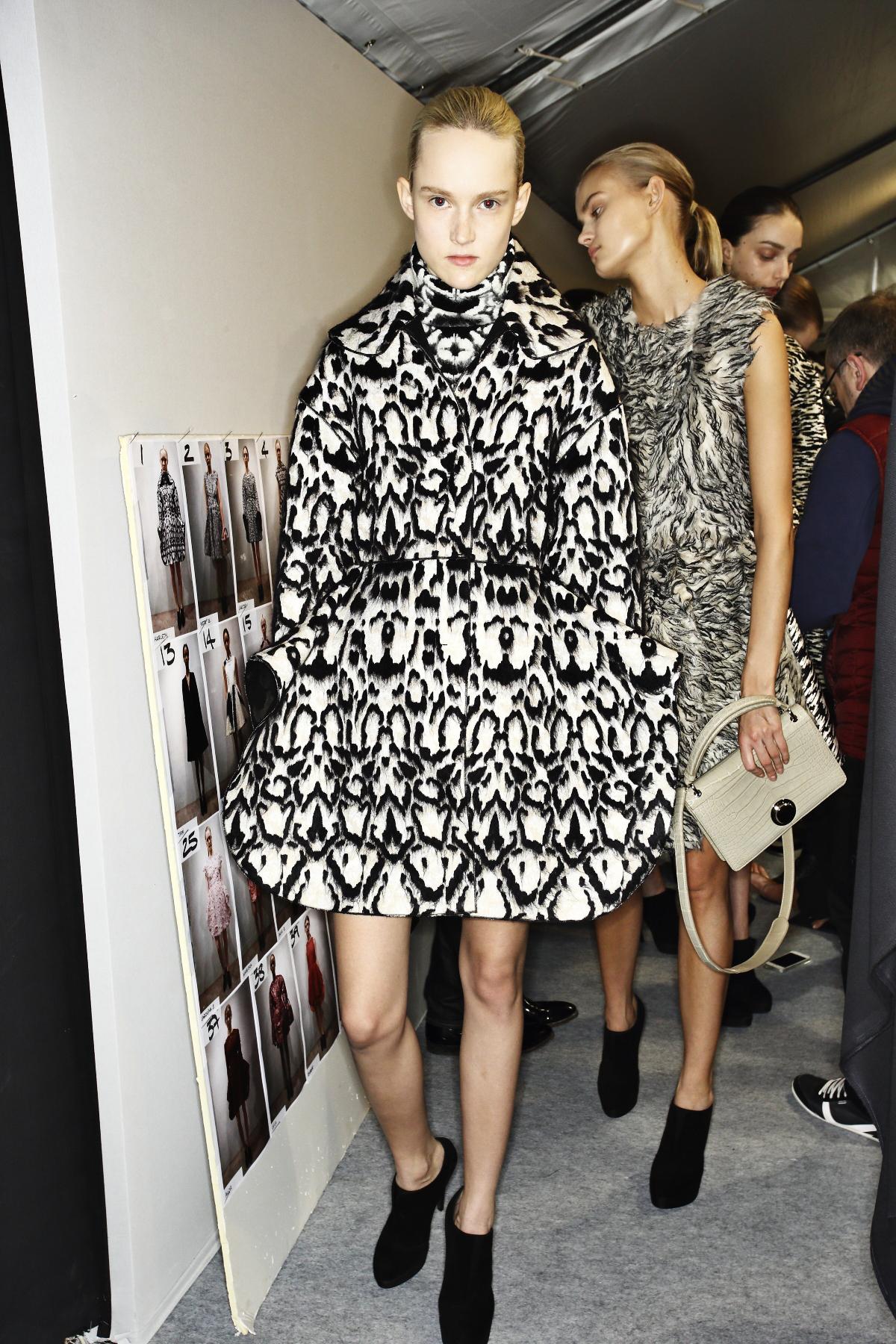 Giambattista Valli AW14-15 Fashion Show Paris Backstage