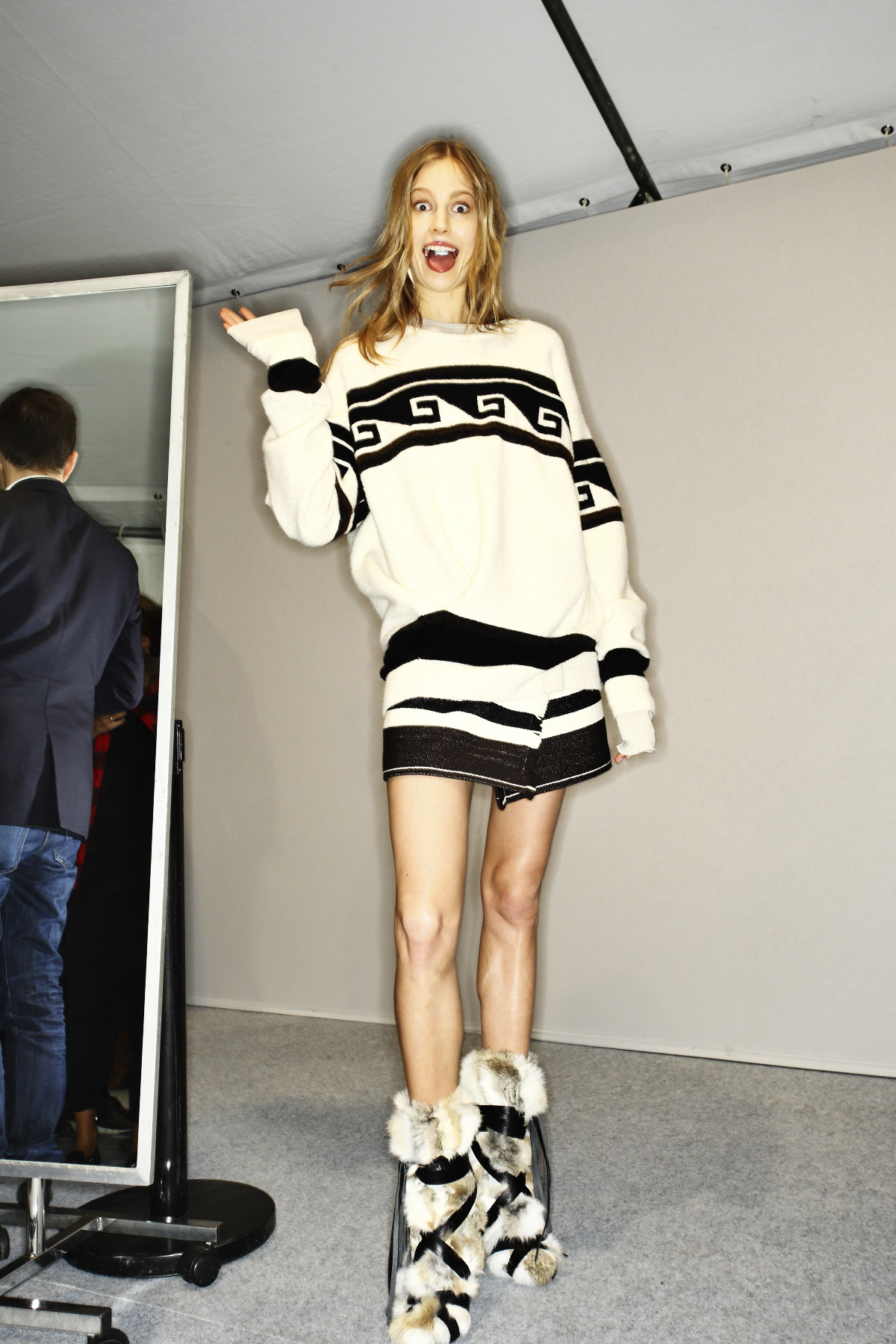 Isabel Marant AW14-15 Fashion Show Paris Backstage