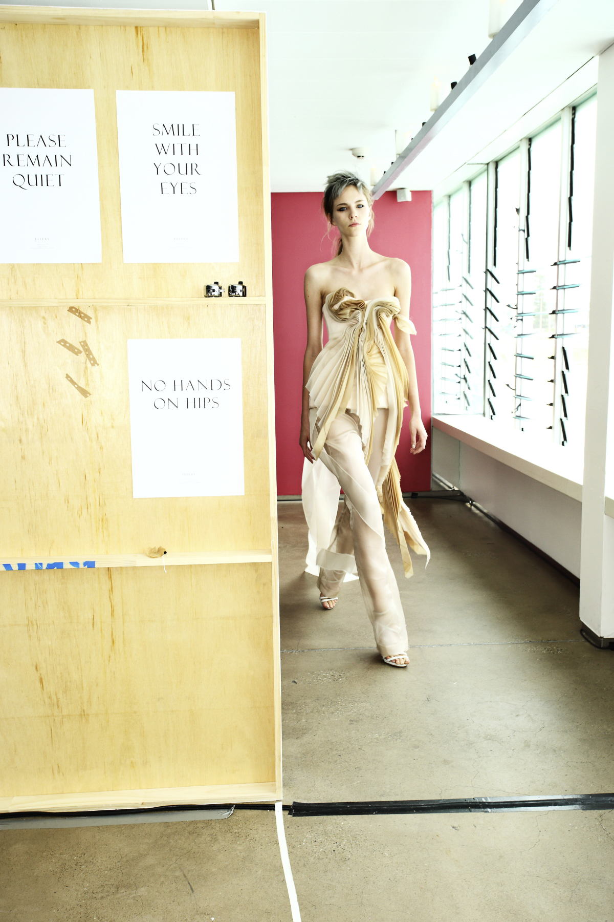 Ellery SS14/15 Fashion Show Sydney Backstage @ The Icebergs Bondi