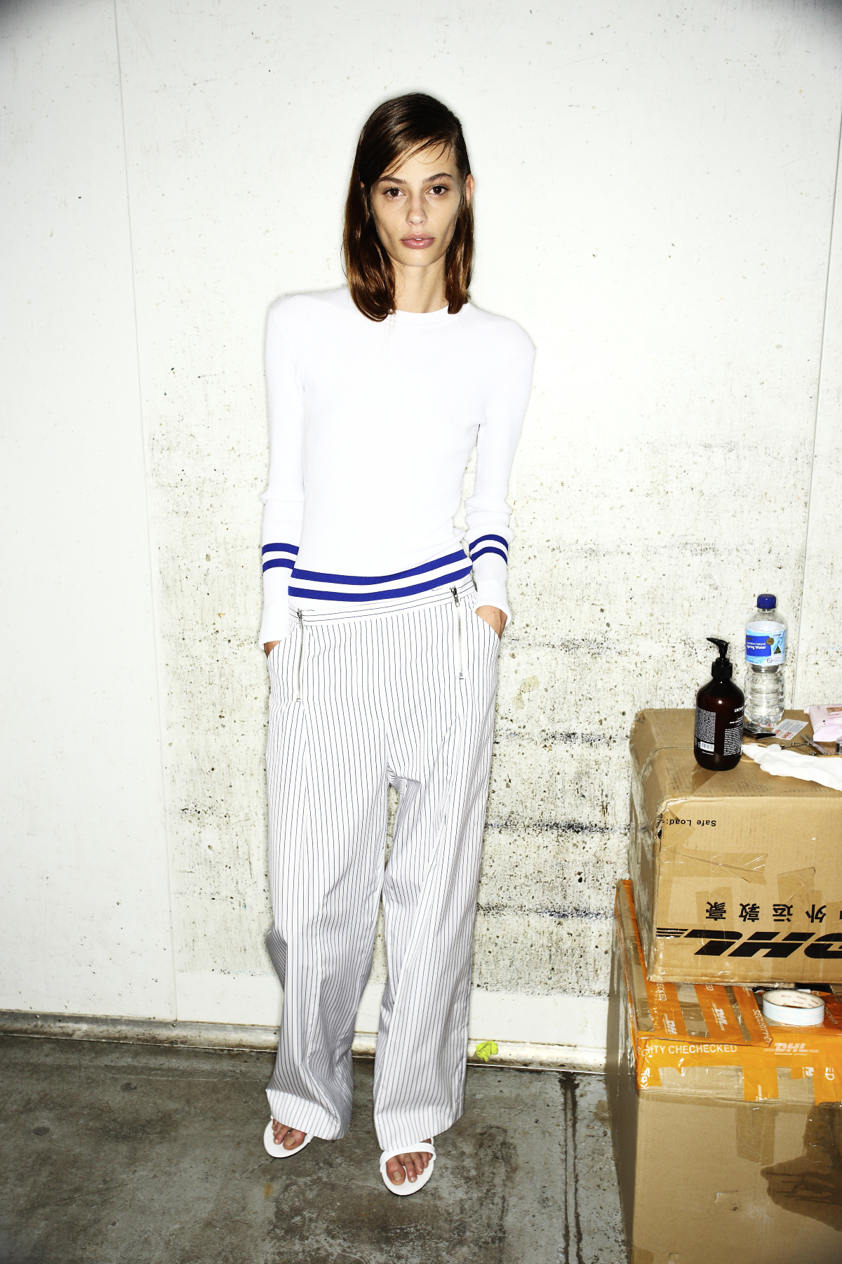 Dion Lee II SS14/15 Fashion Show Sydney Backstage