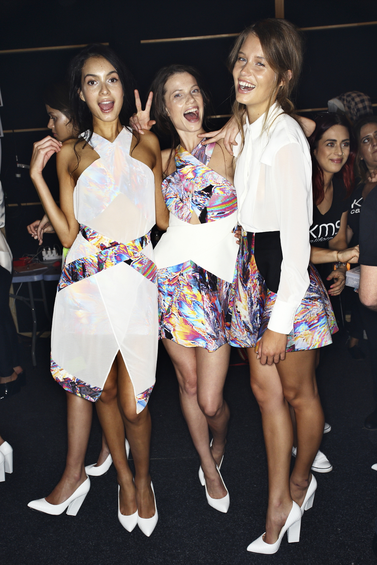 Cameo SS14/15 Fashion Show Sydney Backstage