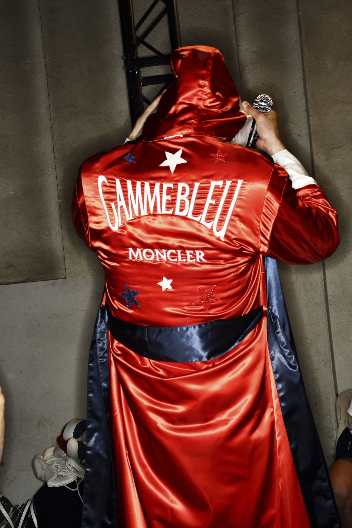 Moncler Gamme Blue SS15 Fashion Show Milan Backstage