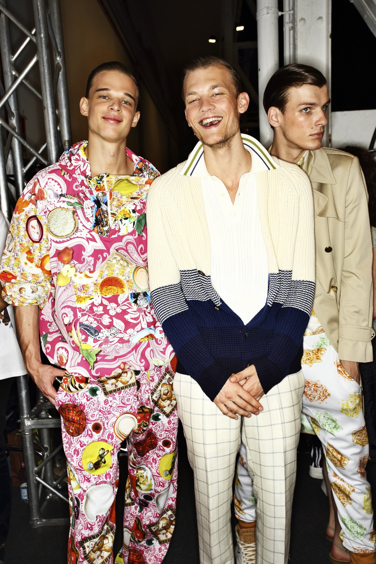 Etro SS15 Men Fashion Show Milan Backstage