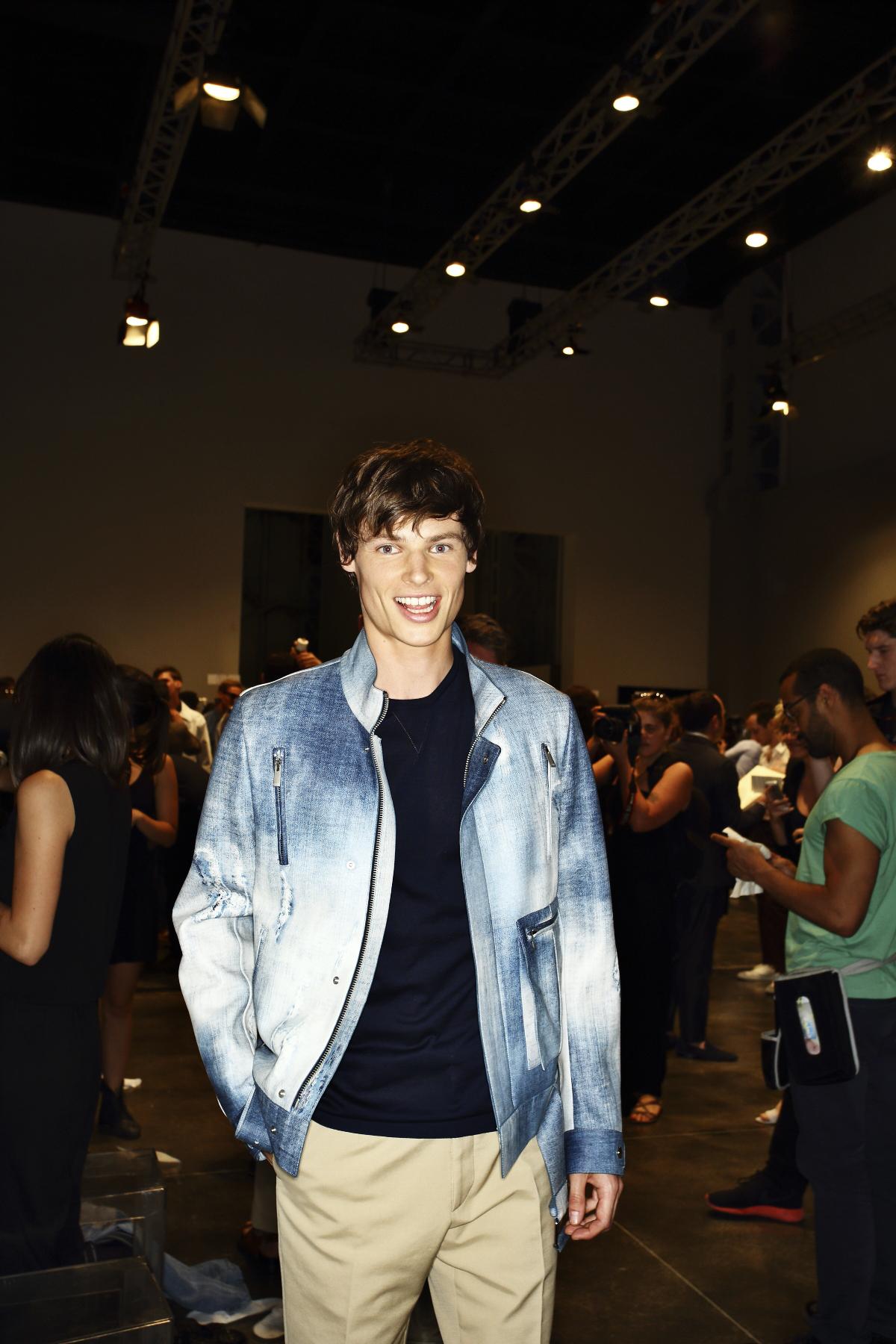 Fendi SS15 Men Fashion Show Milan Backstage
