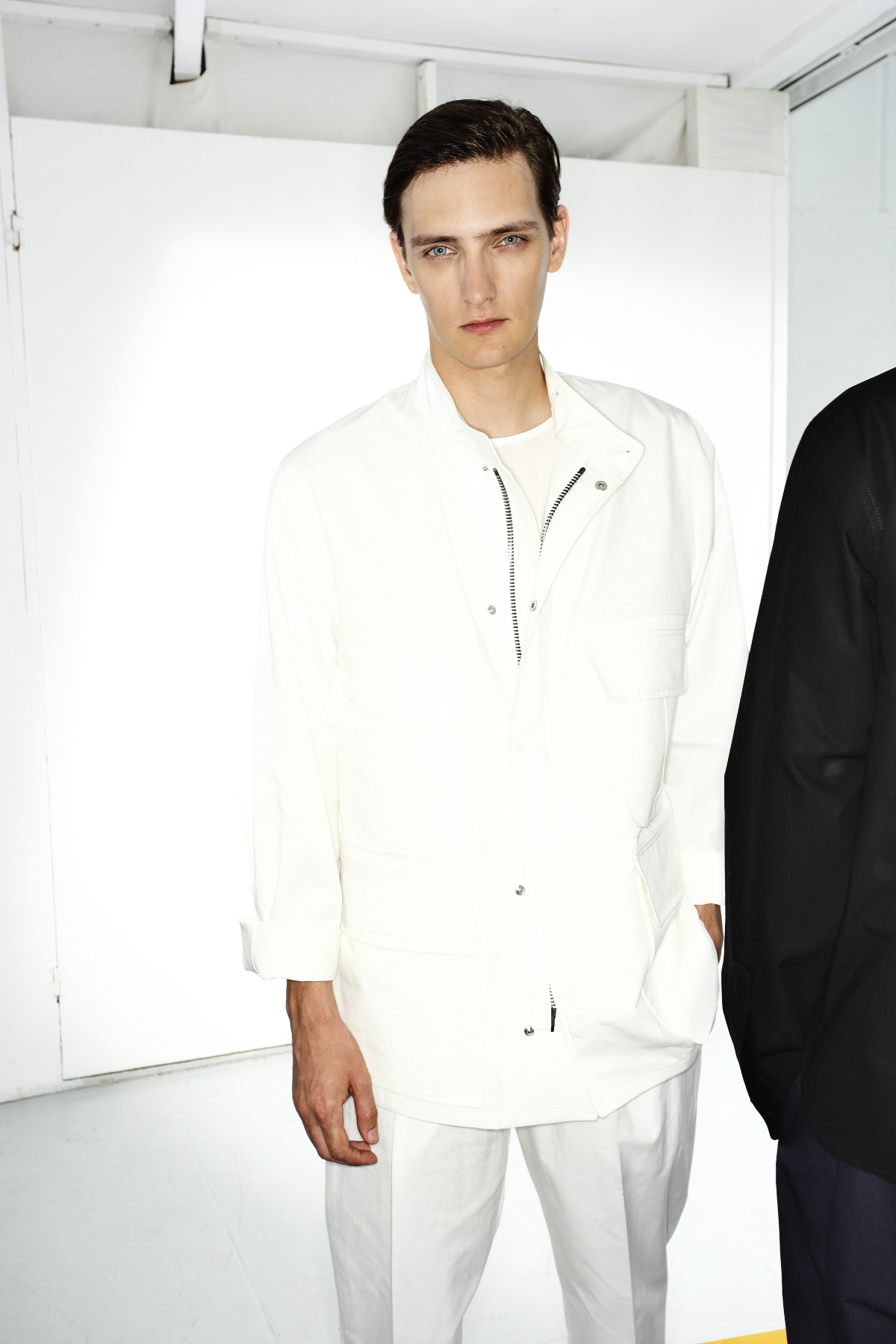 Christophe Lemaire SS15 Men Fashion Show Paris Backstage