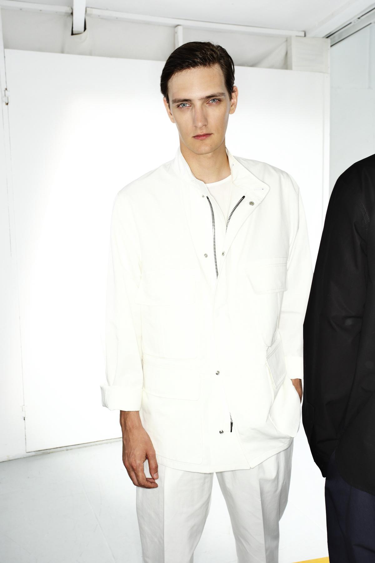 Christophe Lemaire SS15 Men Fashion Show Paris Backstage