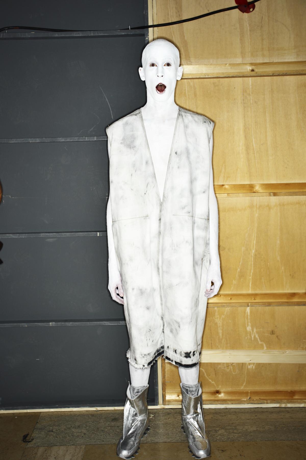 Rick Owens SS15 Men Fashion Show Paris Backstage