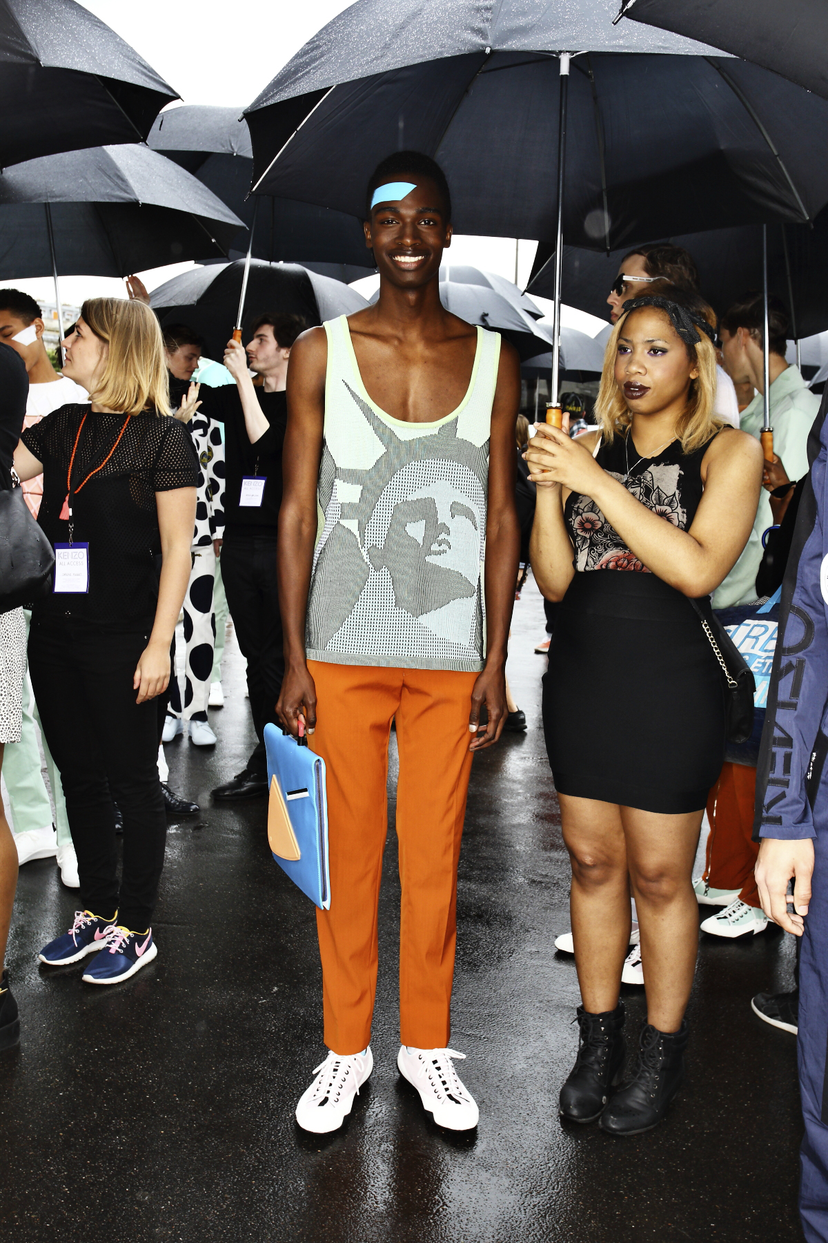 Kenzo SS15 Men Fashion Show Paris Backstage