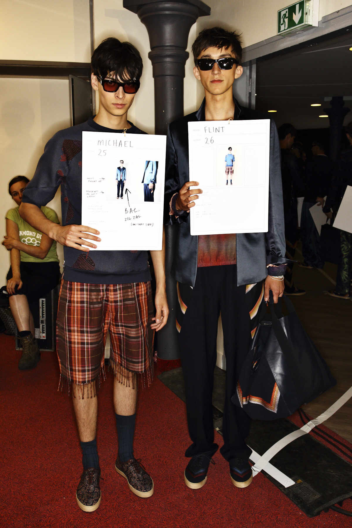 Paul Smith SS15 Men Fashion Show Paris Backstage