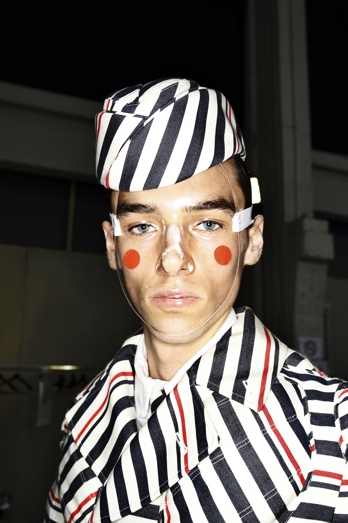 Thom Browne SS15 Men Fashion Show Paris Backstage