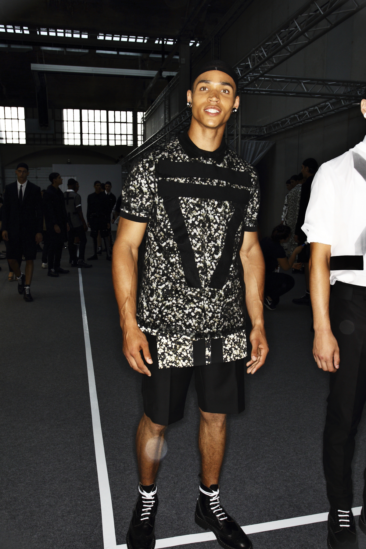 Givenchy SS15 Men Fashion Show Paris Backstage