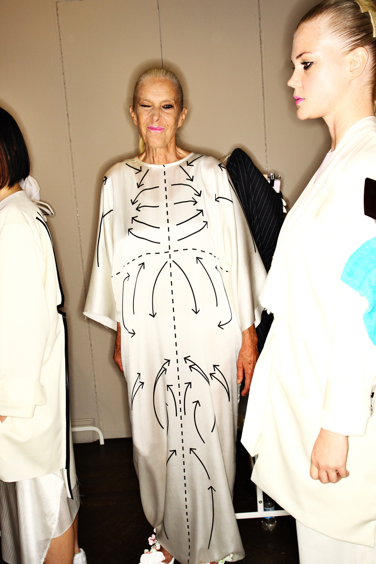 Minna Palmqvist  SS15 Fashion Show Stockholm Backstage