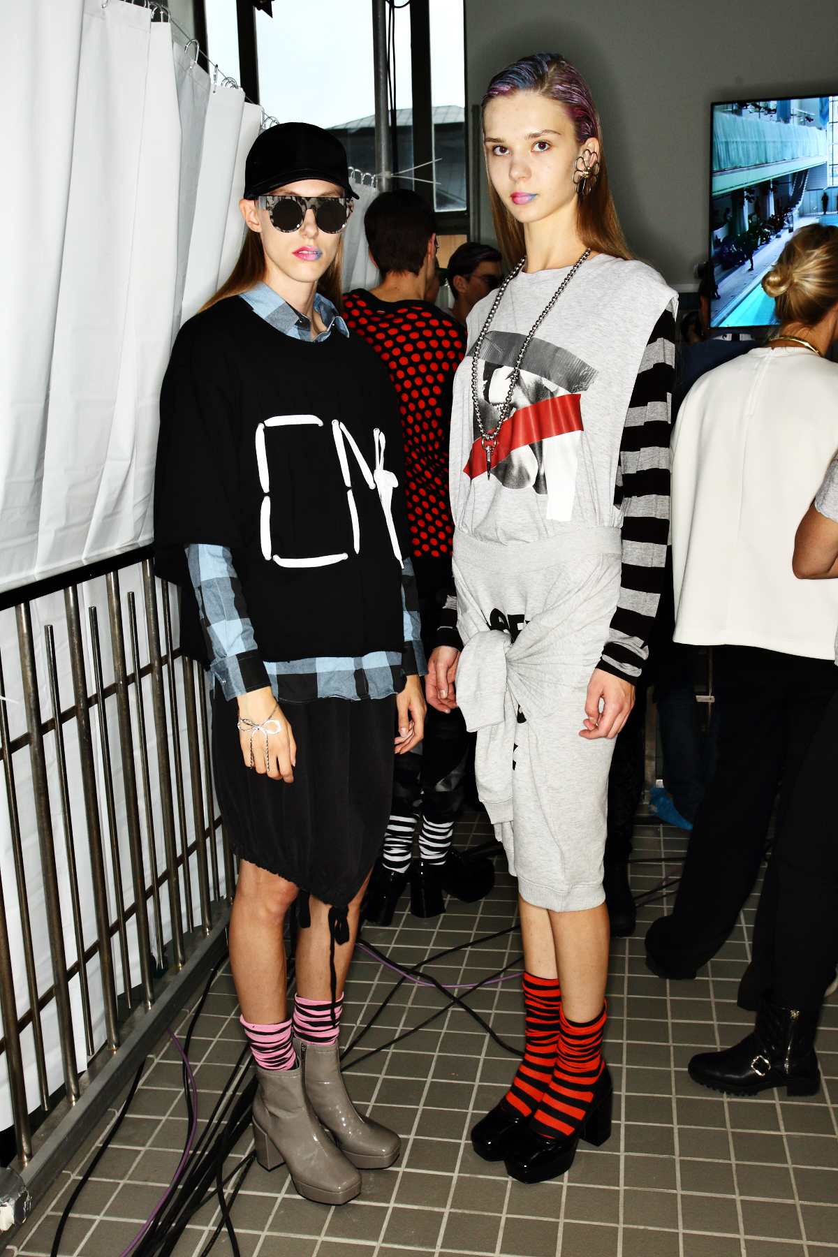 Cheap Monday SS15 Fashion Show Stockholm Backstage